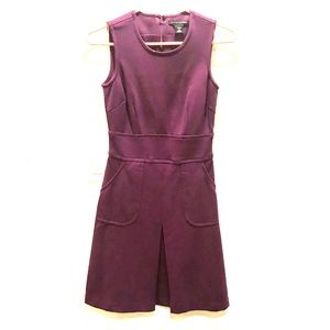 Banana republic purple mini dress